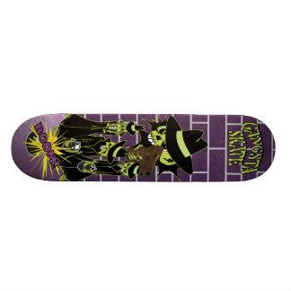 Gangsta Skate Skulls Skate Board Deck