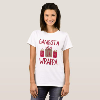 Gangsta Wrappa Funny Christmas T-Shirt