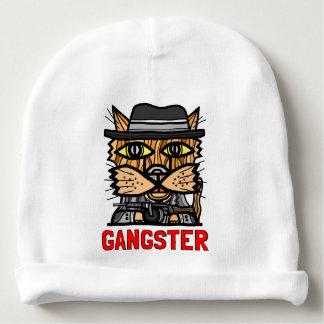 """""""Gangster"""" Baby Cotton Beanie Baby Beanie"""