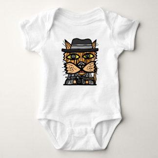 """Gangster"" Baby Jersey Bodysuit"