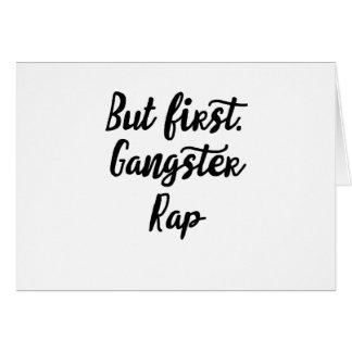 gangster card