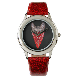 gangster cat - bandana cat - cat gang watch