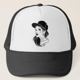 Gangster Girl Trucker Hat
