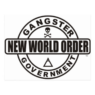 Gangster Government Accessories Postcard