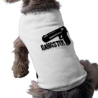 Gangster Gun Pet Tshirt