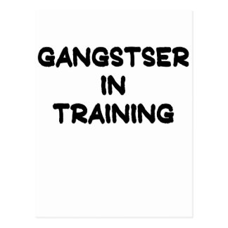 Gangster in Training.png Postcard