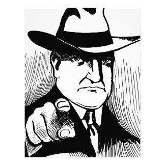 Gangster Letterhead Template