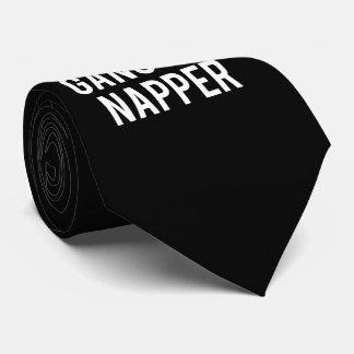 Gangster Napper Tie