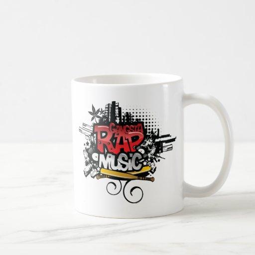 Gangster Rap Music Mug