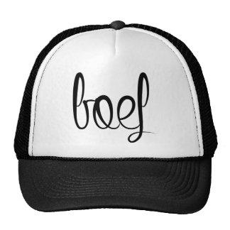 Gangster trucker cap trucker hat
