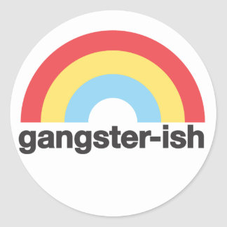 Gangsterish Sticker