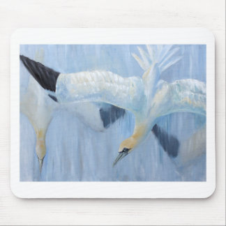 Gannets diving unique gifts for you mouse pad