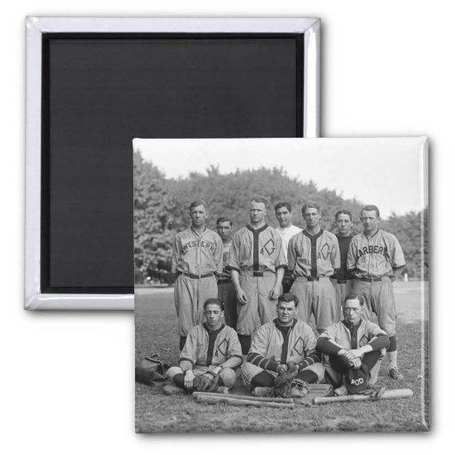 GAO de l'équipe de baseball de PO, les années 1920 Magnets Pour Réfrigérateur