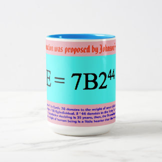 Gao's Doomsday Equation Two-Tone Coffee Mug