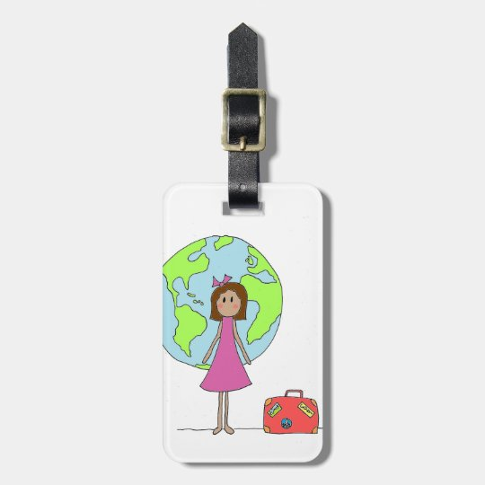 Gap Year Travelling Luggage Tag