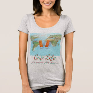 gap year world tour students graduation travel tee