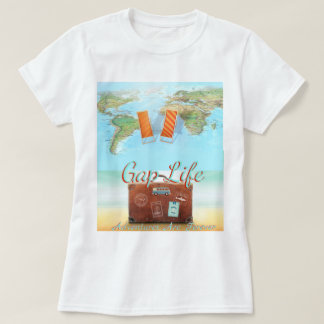 gap year world tour students graduation womens tee