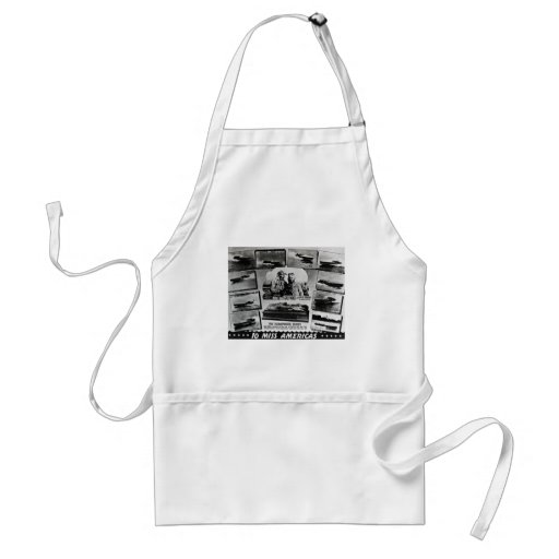Gar Wood and Ten Miss America Race Boats Apron