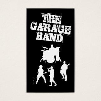 Garage Band Music Business Card