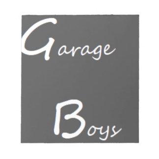 Garage Boys Logo Notepad