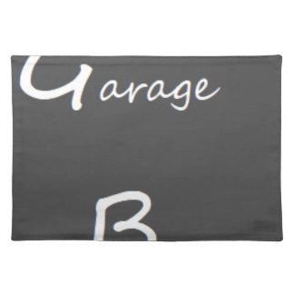 Garage Boys Logo Placemat
