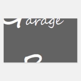 Garage Boys Logo Sticker