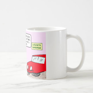 garage coffee mug