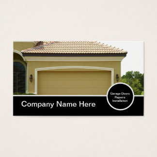 Garage Door Business Cards