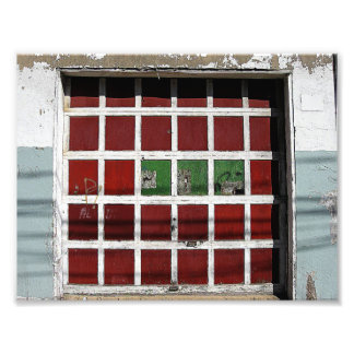 Garage Door Photo Print