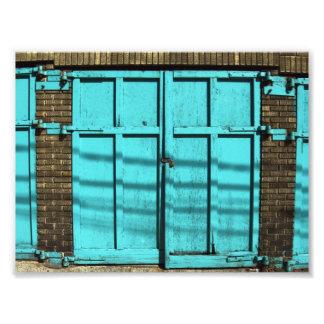 Garage Door Photograph