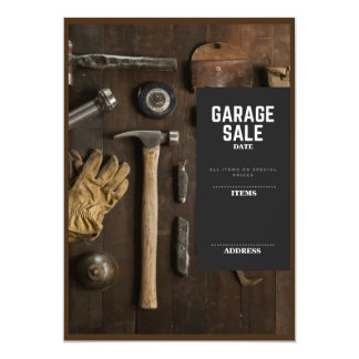 Garage Sale Card