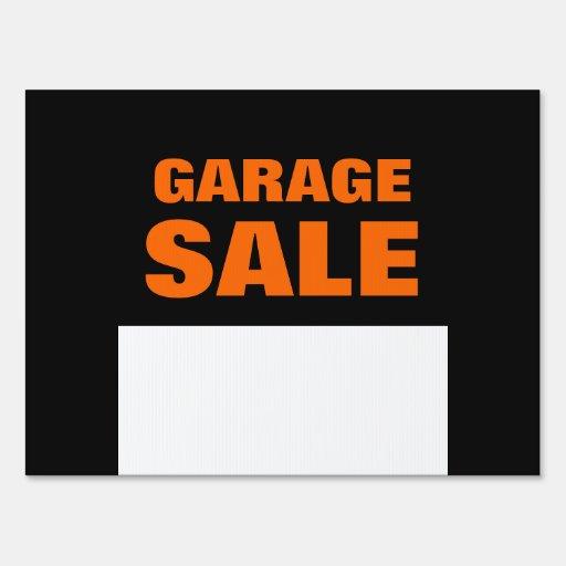 Garage Sale Customizable Yard Sign