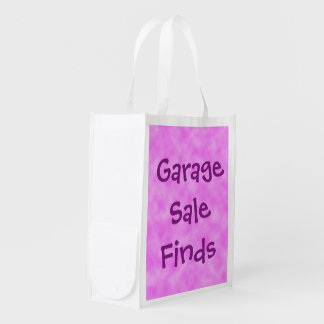 Garage Sale Finds Reusable Folding Tote Bag Grocery Bag