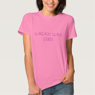 GARAGE SALE GURU TEE SHIRT