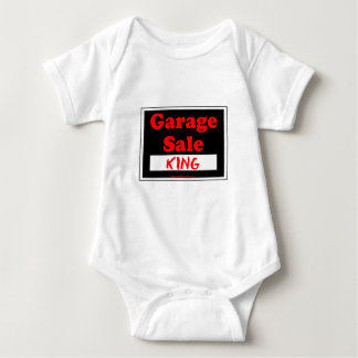 Garage Sale King Baby Bodysuit