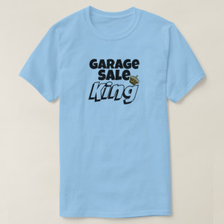 Garage Sale King Mens Bargain Hunter Shirt