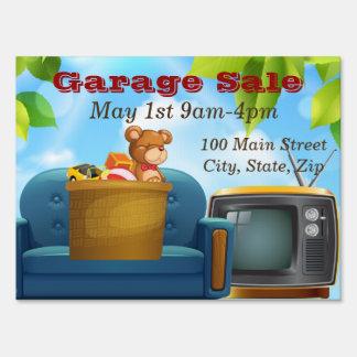 Garage Sale Medium SpeedySigns Yard Sign
