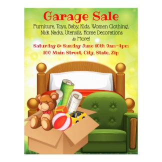Garage Sale Promotional Flyer