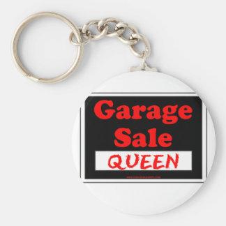 Garage Sale Queen Keychain