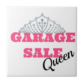 Garage Sale Queen Line Tiles