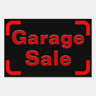 Garage Sale, Small Yard Sign