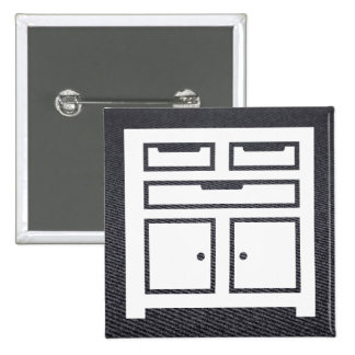 Garage Toolboxes Icon 2 Inch Square Button