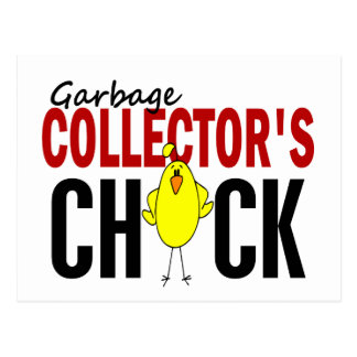Garbage Collector s Chick 1 Post Cards