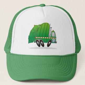 Garbage Truck G Trucker Hat