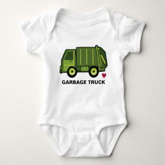 Garbage Truck Love Baby Bodysuit