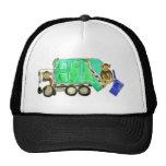 Garbage Truck Monkey Mesh Hat