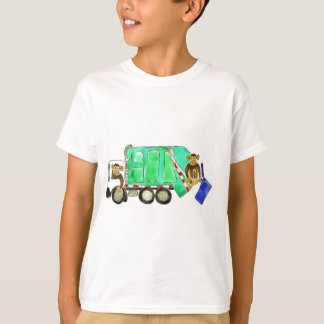 Garbage Truck Monkey T-Shirt