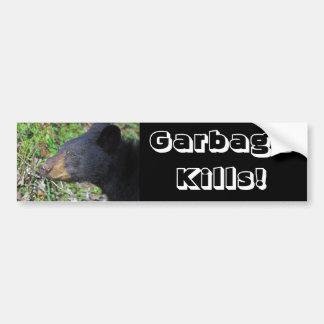 GarbageKills! Bumper Sticker