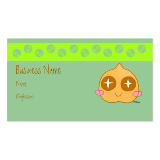 Garbanzo kawaii Double-Sided standard business cards (Pack of 100)