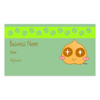 Garbanzo kawaii business card templates
